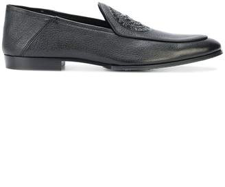 Balmain embossed logo loafers