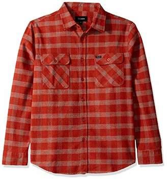 Brixton Men's Bowery Standard FIT Long Sleeve Flannel Shirt