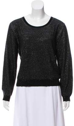 Sonia Rykiel Sonia by Embellished Wool Sweater