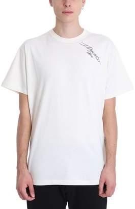 Ih Nom Uh Nit Signature Beige Cotton T-shirt