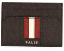 Bally Men's Taclipos Leather Money Clip Card Case