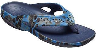 Crocs Men's Sandals - Swiftwater Kryptek Neptune Deck Flip
