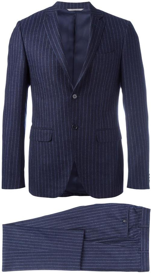 CanaliCanali striped detail suit