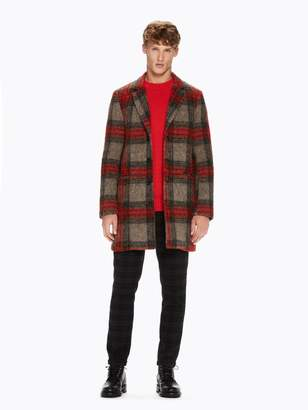 Scotch & Soda Tartan Coat