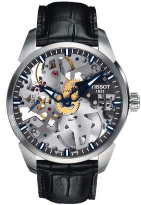 Tissot T-Complicated Squellette Mechanical Watch, 43mm