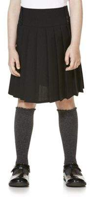 F&F School School Kilt-Style Permanent Pleat Skirt 9-10 years