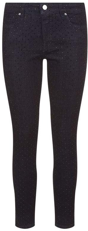 Victoria, Victoria Beckham Studded Ankle Length Jeans