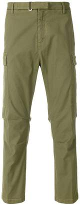 Entre Amis side pocket cargo trousers