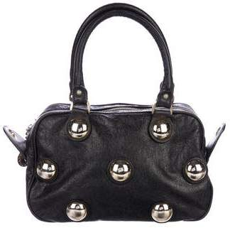 Stella McCartney Studded Leather Satchel