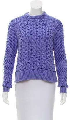 Acne Studios Crew Neck Cable Knit Sweater