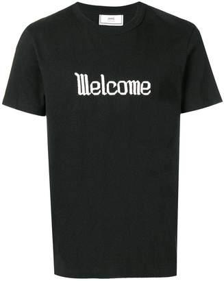 Ami Alexandre Mattiussi welcome t-shirt