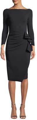 Chiara Boni Zelma Ruched Body-Con Dress
