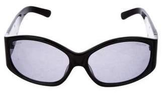 Miu Miu Oversize Tinted Sunglasses