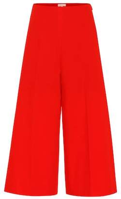 DELPOZO Wide-leg cotton pants