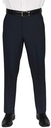 """Dockers Solid Flat Front Pants - 30-34\"""" Inseam"""