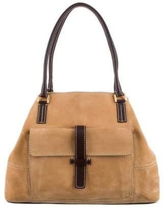 Loro Piana Nubuck Shoulder Bag
