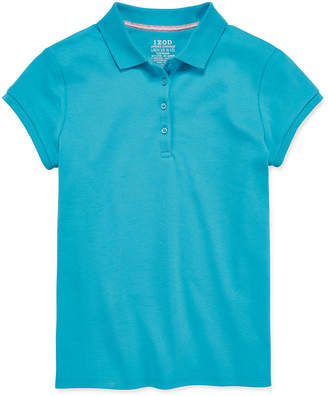 Izod EXCLUSIVE Short-Sleeve Interlock Polo Girls 4-16 and Plus