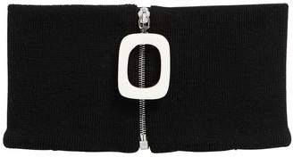 Zip Extra Fine Merino Wool Neckband
