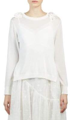 Simone Rocha Bow Knit Sweater