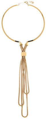 Trina Turk Snake Chain Draped Collar Necklace $258 thestylecure.com