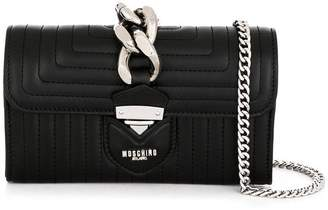Moschino chunky chain shoulder bag