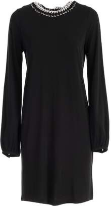 MICHAEL Michael Kors Chain Trimmed Dress