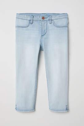 H&M Capri Skinny Fit Jeans - Blue