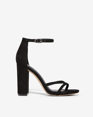 Express Thin Strap Thick Heeled Sandals