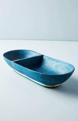 Anthropologie Wood Condiment Tray