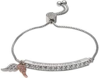 "Brilliance+ Brilliance ""Watching Over Me"" Adjustable Bracelet with Swarovski Crystals"