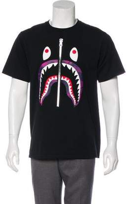 A Bathing Ape 2018 Camouflage Shark T-Shirt