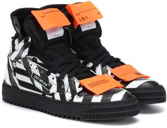 Off-White Off White Off-Court leather sneakers