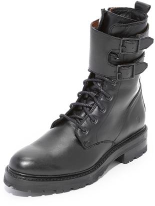 Frye Julie Shield Boots $398 thestylecure.com
