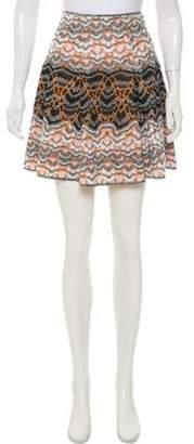 Missoni Knit Mini Skirt Black Knit Mini Skirt