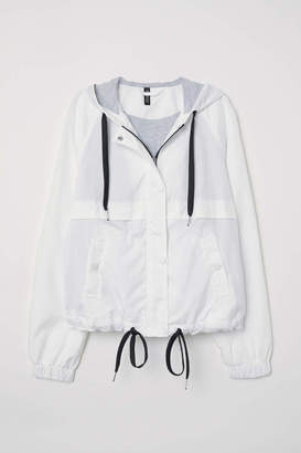 H&M Hooded Jacket - Green - Women