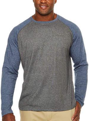 Columbia Mens Crew Neck Long Sleeve Moisture Wicking T-Shirt-Big