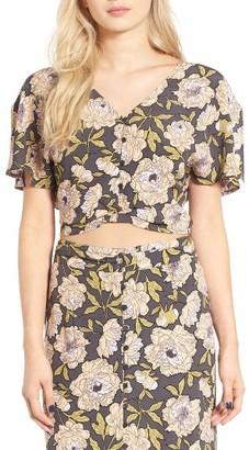 Women's Leith Floral Print Blouse $55 thestylecure.com