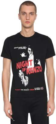 Kenzo Horror Printed Cotton Jersey T-Shirt