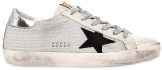 Golden Goose 20mm Super Star Woven Rope Sneakers