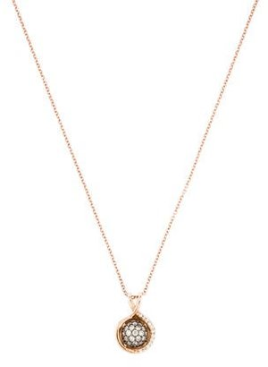 Le Vian 14K Diamond Pendant Necklace $695 thestylecure.com