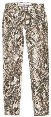 Etienne Marcel Low-Rise Camo Pants