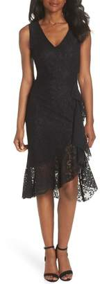 FOREST LILY Ruffle Lace Dress