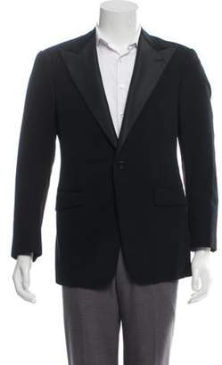 Ralph Lauren Purple Label Wool & Cashmere-Blend Tuxedo Jacket black Wool & Cashmere-Blend Tuxedo Jacket