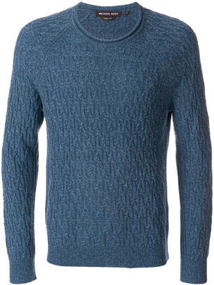 MICHAEL Michael Kors textured knit sweater