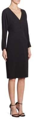 Max Mara V-Neck Jersey Dress