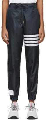 Thom Browne Navy Four-Bar Vintage Lounge Pants