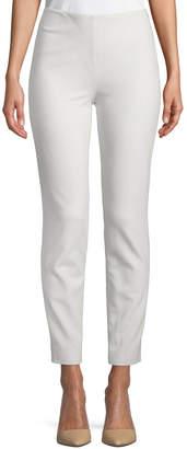 Ralph Lauren Annie Straight-Leg Stretch-Wool Pants