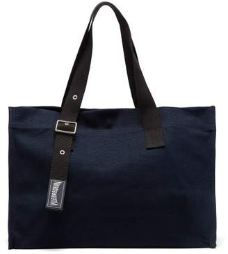 Vilebrequin Large Canvas Bag - Mens - Navy