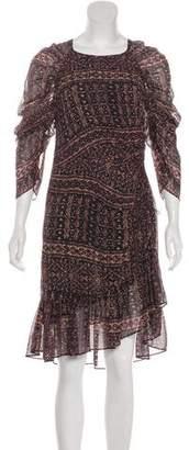 Ulla Johnson Silk Ruffle Dress