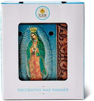 St Jude Candle Company St. Jude Candle Company Decorative Ceramic Wax Warmer, Virgen de Guadalupe